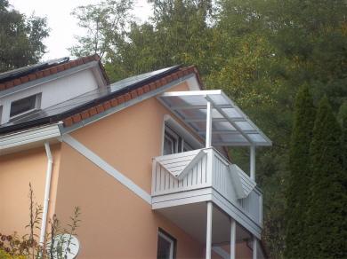 Uberdachung Balkon Terrasse Aluminium Wintergarten Pcs Dach